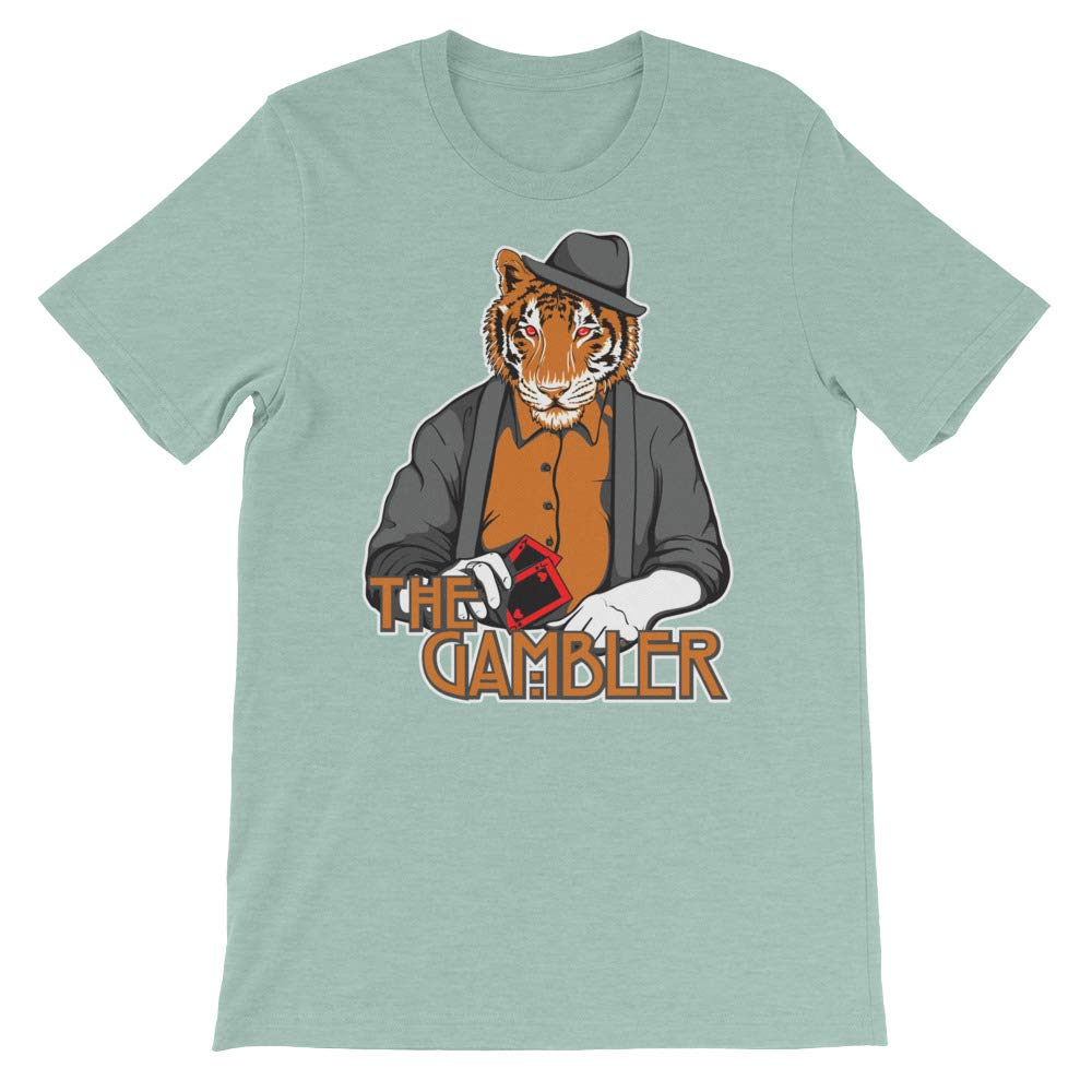 Spicy Cold Apparel The Gambler T-Shirt Graphic Shirts Funny Unisex Shirt