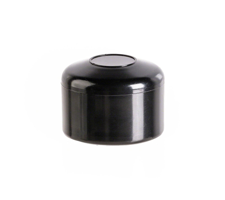 capuchon pour poteau rond 1/_1//2 noir Bouchons tube Embout cloture 10 Stck