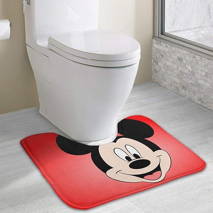 Home J.Ehonace Mickey Minnie Mouse Rugs Kitchen Rug Bathroom Rug 17 x 30 Indoor Outdoor Entrance Rug