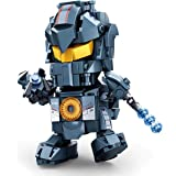 LionMoc Moc Creator 'Pacific Rim' DIY Mecha Building Block Bricks Machine Toy Compatible with Lego Building Set (Mini Gipsy Avenger)