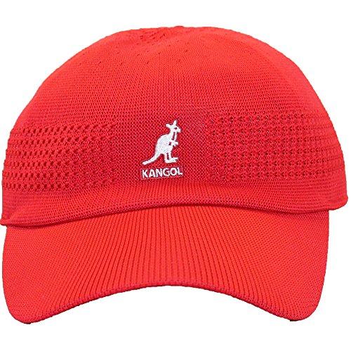 Kangol Unisex-Adult's Tropic Ventair Space Cap, Rojo, - Accessories Unisex Hats Kangol
