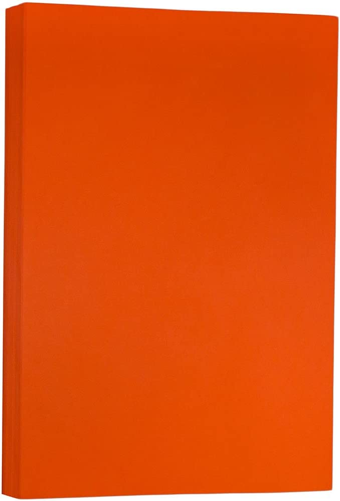 279,4 x 431,8 mm JAM PAPER Cartoncino Tabloid Opaco Verde Riciclato 90gsm 100 Fogli//Pacco