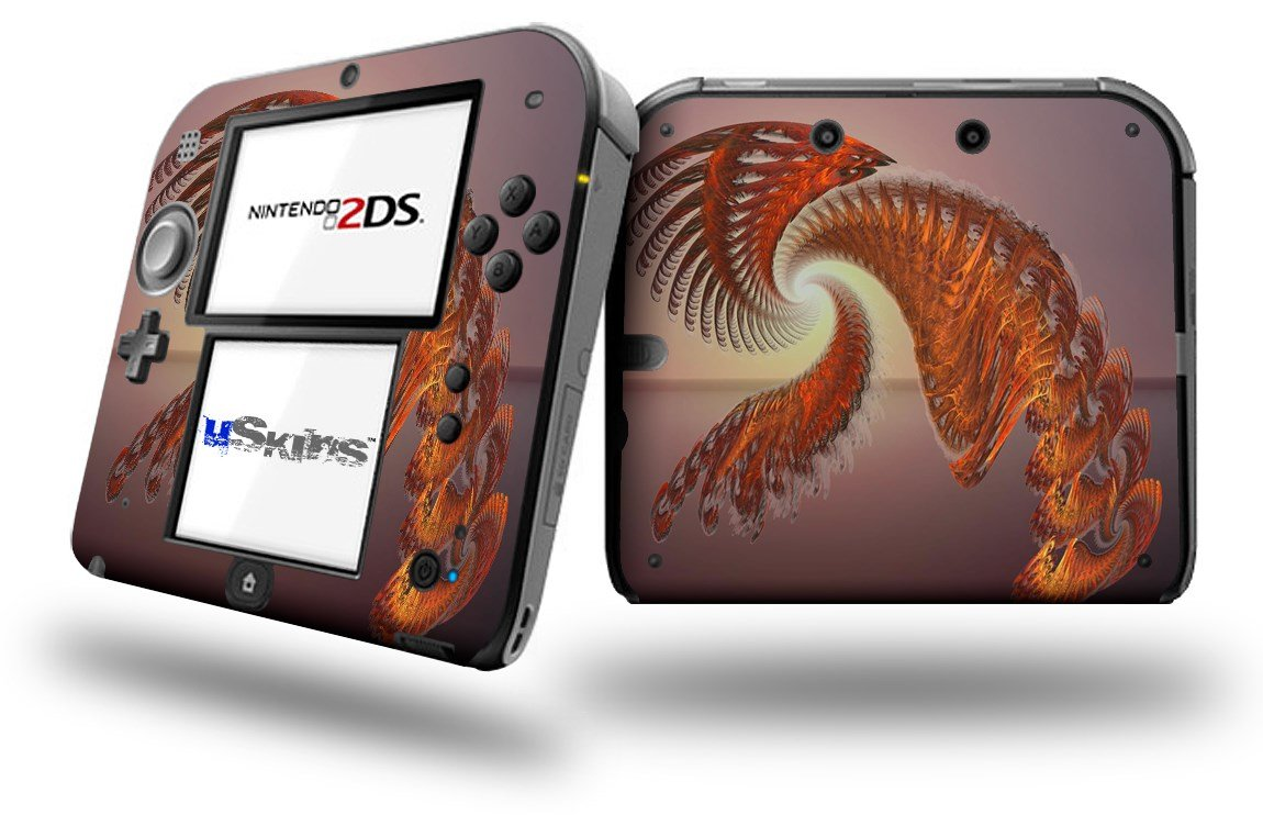 Solar Power - Decal Style Vinyl Skin fits Nintendo 2DS - 2DS NOT INCLUDED by uSkins