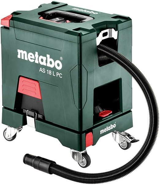 Metabo Aspiradora AS 18 L PC 602021000 Limpieza del filtro con ...