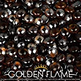 Golden Flame 10-Pound Fire Glass ''Fire-Drops'' 1/2-Inch Copper Reflective