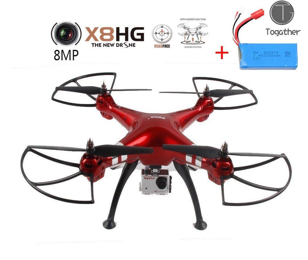 Togather® 2016 nuevo modelo Syma X8HG sin cabeza RC Quadcopter con ...