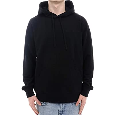 Calvin Klein Mens Institutional Back Heavyweight Knits, Adult, Ck Black, 2XL: Clothing