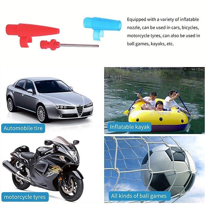 KNOSSOS 12 V Mini Bomba de Aire neumático para vehículos compresor ...