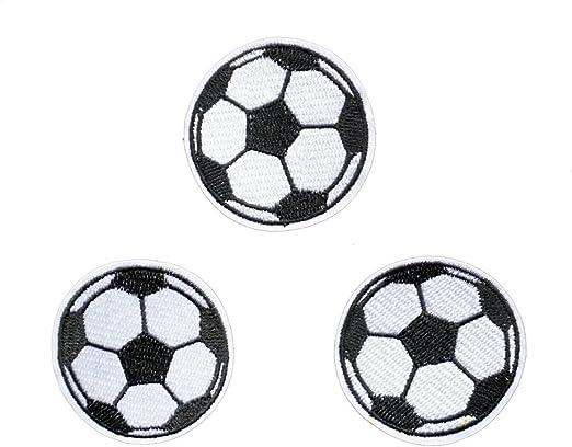 3 parches de balón de fútbol para niños, vaqueros, ropa, coser ...