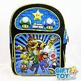 Super Mario 14″ Backpack Luigi Goomba Koopa, Bags Central