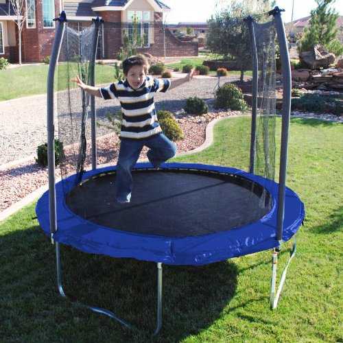 Skywalker 8-Feet Round Trampoline with Safety Enclosure Combo
