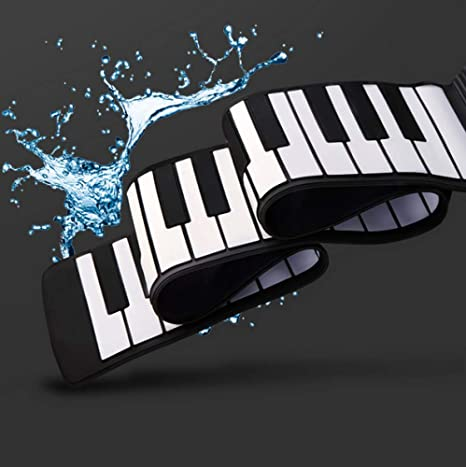 YIHANGG Mano Rollo Piano 88 Teclas Teclado De Silicona ...