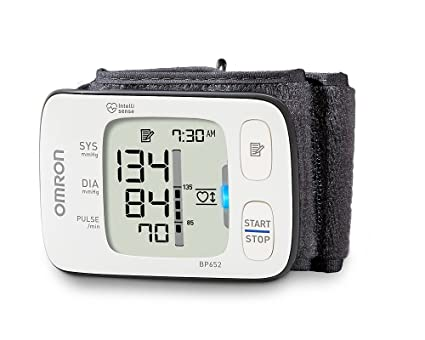 Omron BP652 Wrist Automatic blood pressure unit 1usuario(s) - Tensiómetro (AA,