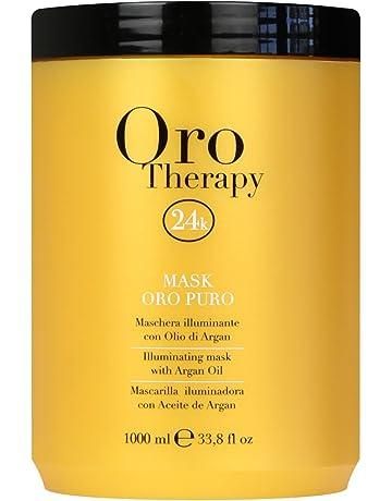 Maschera Oro Puro 1000 ml Con Cheratina ed Argan - Fanola Oro Therapy 24k 95552b7aecac