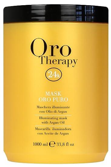 dirt cheap classic new appearance Maschera Oro Puro 1000 ml Con Cheratina ed Argan - Fanola Oro Therapy 24k