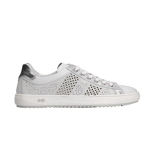NERO GIARDINI Sneakers scarpe donna bianco 5100 mod. P805100D