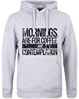 Mornings Are For Coffee And Contemplation Mens Hoodie