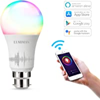 Alexa WiFi Smart Light Led Bulbs by LUMIMAN, Works with Alexa & Google Assistant