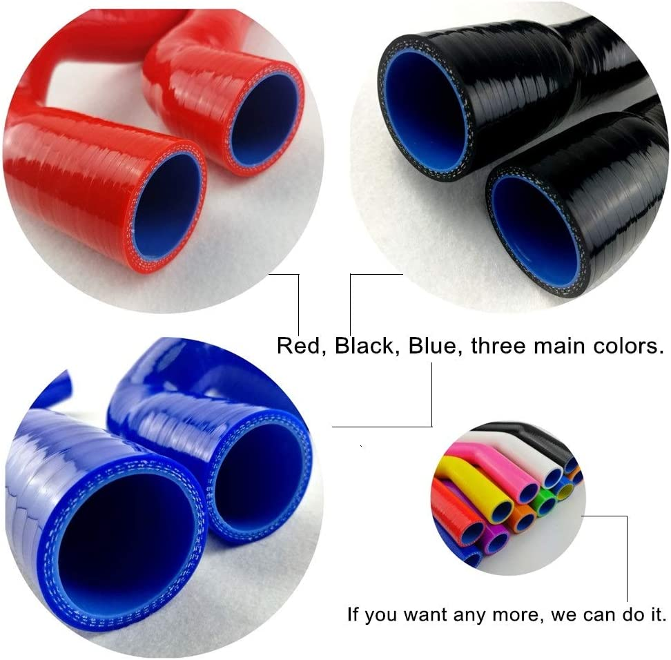 1 Meter Blue I33T Universal 3-Ply High Performance Silicone Coolant Hose ID 0.87 // 22mm Length 3.28 Feet