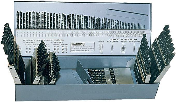 Sherwood No.12 Gauge Hss S//S Jobber Drill Pack Of 10