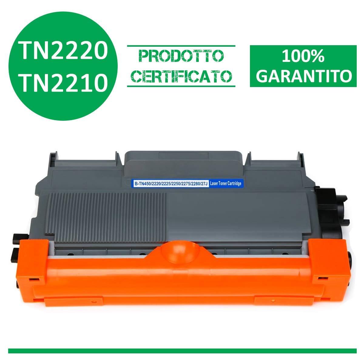 Toner 2220 2210 Compatible TN2220 TN2210 Cartucho para Brother HL ...