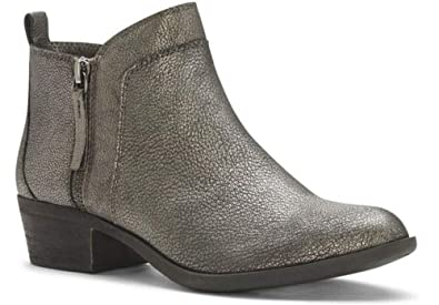 7ad4cdd43f1a Vince Camuto Women s BRININA Ankle Bootie Pewter Rock
