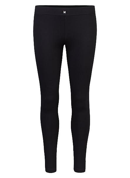 Short Stories Leggings, Pantalones de Pijama para Mujer, Negro (Black 1199.0),