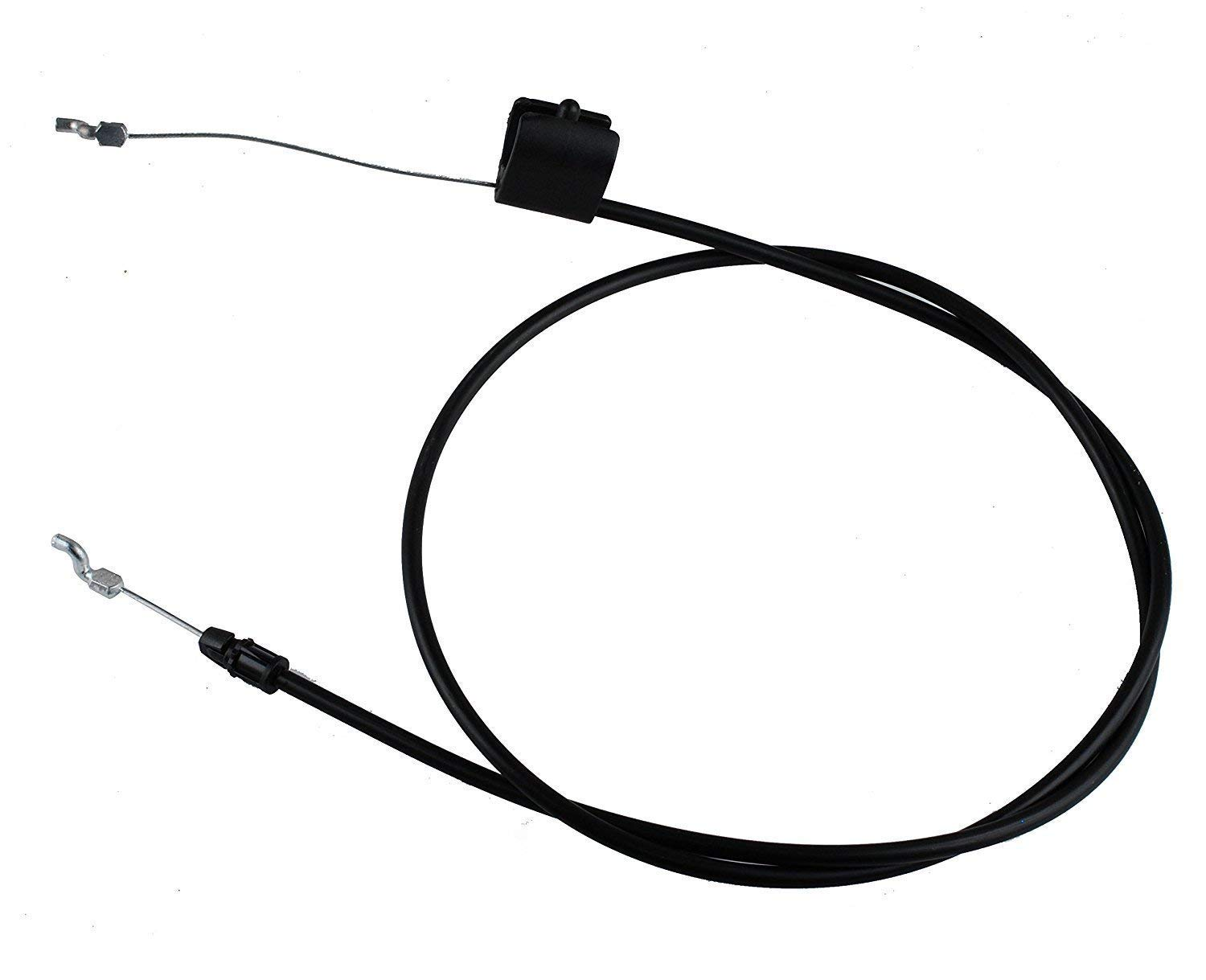 Aquiver Auto Parts New Lawn Mower Throttle Cable 158152 582991501 Engine Zone Control Cable for Husqvarna Poulan Craftsman Weed Eater