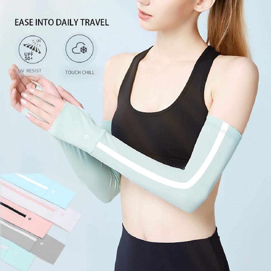 Vaycally Mangas de brazo, protección UV de enfriamiento de brazo ...