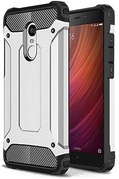Funda Xiaomi Redmi Note 4, Silicona Gel TPU y Plástico PC (2en1 ...