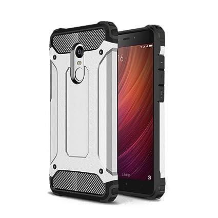 Funda Xiaomi Redmi Note 4, Silicona Gel TPU y Plástico PC (2en1) - Maviss Diary Cover Shock-Absorción y Anti-Arañazos Carcasa Case Bumper Parachoques ...