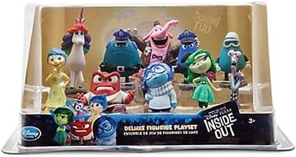 Disney Inside Out Figure Play Set Figurine Cake Topper Joy Sadness Anger Fear
