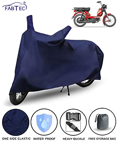 Fabtec Waterproof Bike Body Cover For Tvs Xl 100 Stabdard Size With