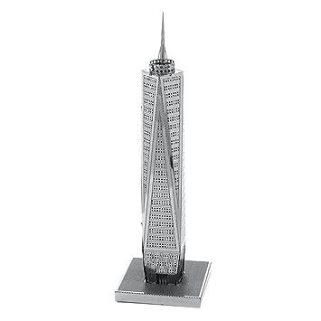Fascinations Metal Earth 3D Laser Cut Steel Model Kit NY 30 Rockefeller Plaza