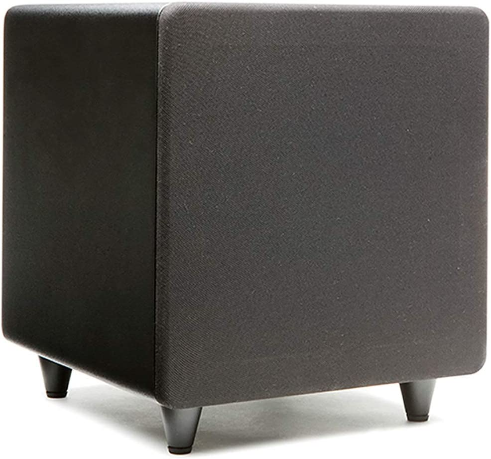 """Orb Audio: subMINI Subwoofer - 9"""" Cube - Dual High Velocity Ports - 50 Clean Watts Of Class D Power - Adjustable Crossover and LFE Setting - Fast, Accurate Bass"""