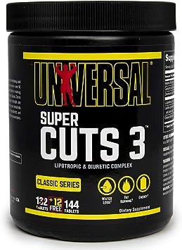 Universal Nutrition Super Cuts 3-130 Tabletas: Amazon.es ...