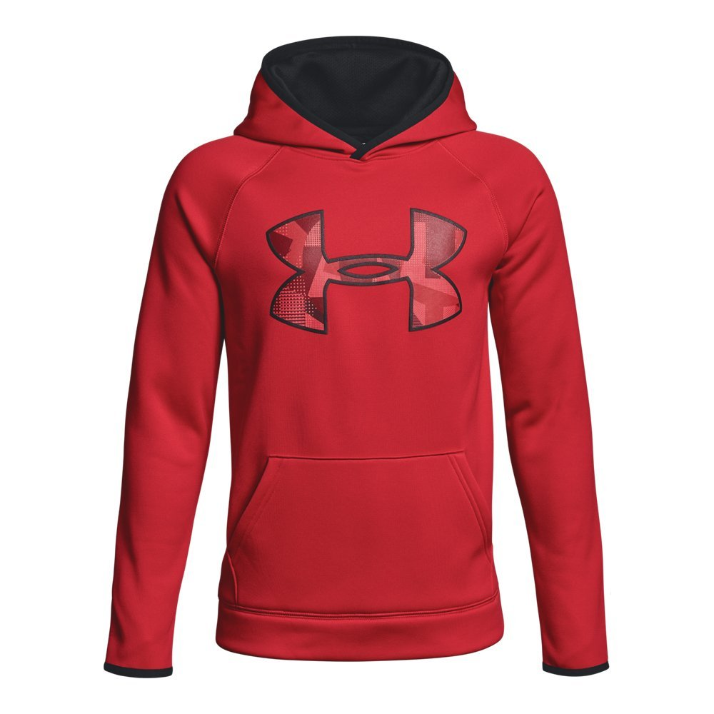 Under Armour Armour Fleece Big Logo Youth X-Small Red