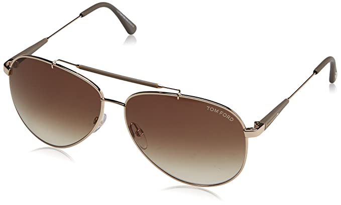 Tom Ford Herren Sonnenbrille »Marko FT0144«, goldfarben, 28W - gold