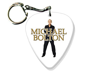 Michael Bolton BIG Guitarra Pick Llavero Band Púa Para ...