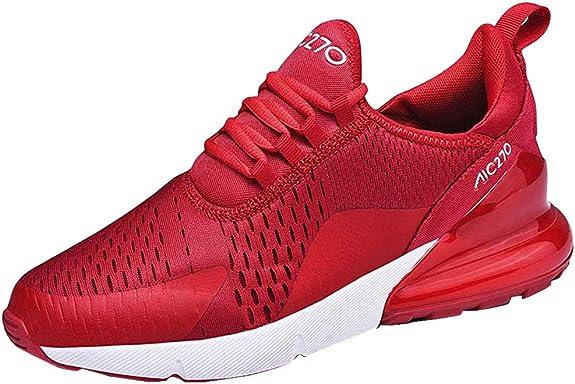 Imagen deMujer Zapatillas Deporte para Zapatillas de Ligeras Running Transpirables Cómodas Correr para Zapatos de Malla 35-46 EU