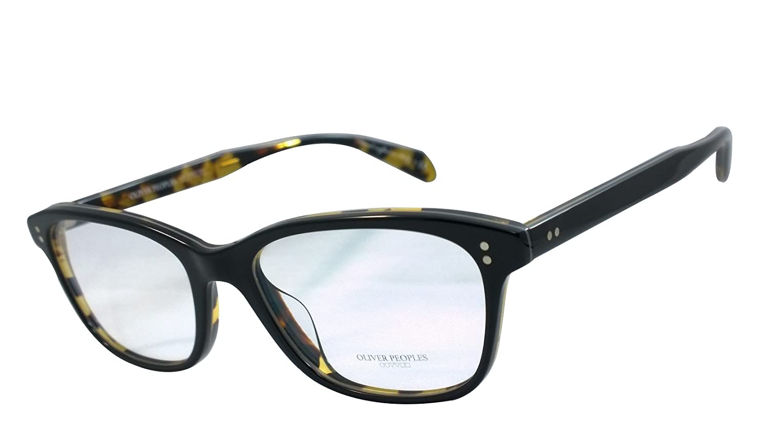 4ac4fb5e61 Amazon.com  Oliver Peoples Ov5224 Ashton 100% Authentic Women s Eyeglasses  52mm Black   Dark Tortoise Black 1309  Clothing