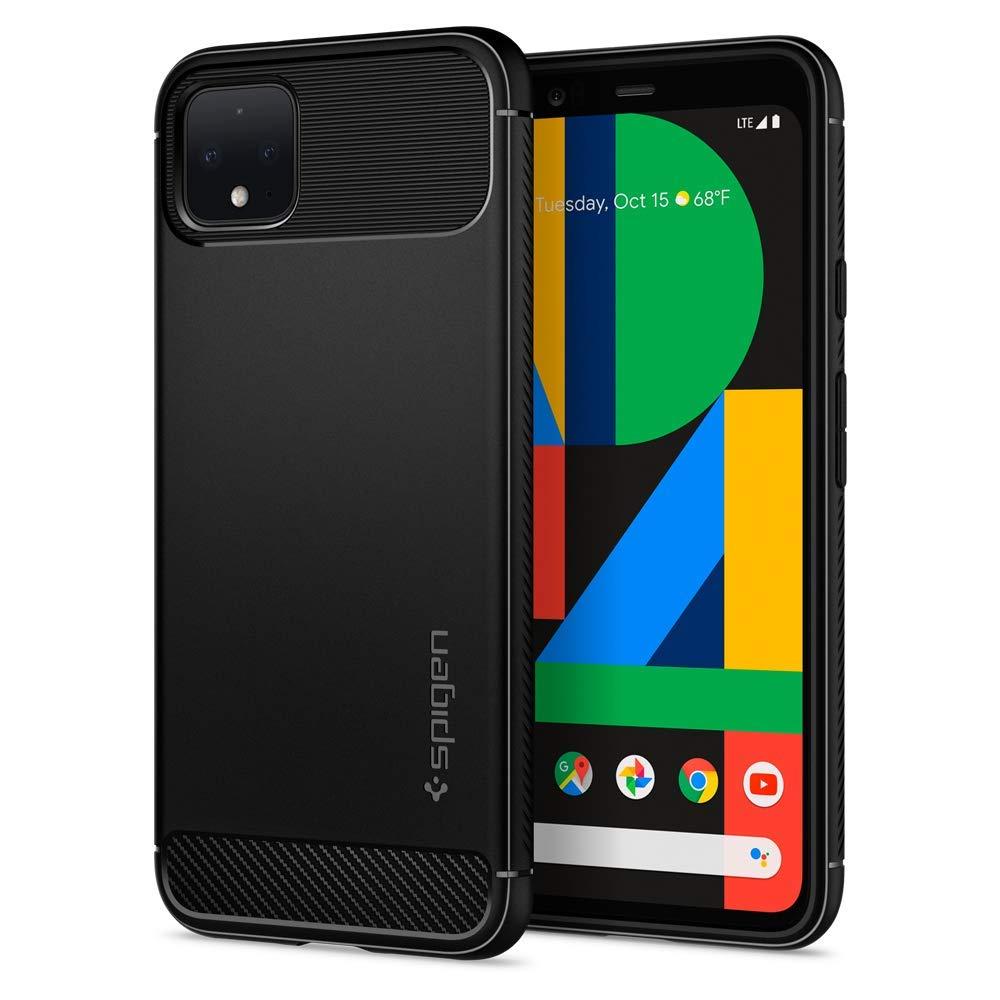 Spigen, Rugged Armor, Designed for Google Pixel 4 Case (2019) - Matte Black (B07TDPH6QV) Amazon Price History, Amazon Price Tracker