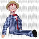 Mortimer Snerd Standard Upgrade Ventriloquist Dummy by ThrowThings.com
