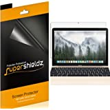 [3-Pack] Supershieldz- High Definition Clear Screen Protector For New MacBook 12 inch (2015 / 2016 / 2017) + Lifetime Replacements Warranty - Retail Packaging