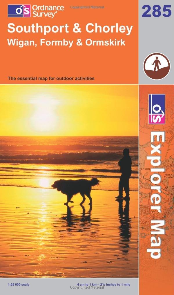 Southport And Chorley Explorer Maps Os Explorer Map Amazon Co Uk Ordnance Survey 9780319235867 Books