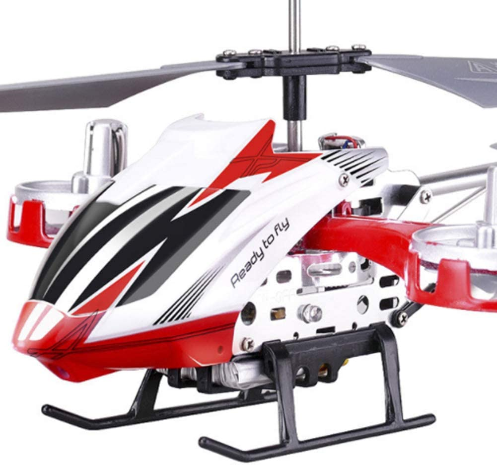 HBOY Resistance to Falling Remote Control Aircraft to Increase Childrens Adult Charging Toy Helicopter Aerial Drone-red