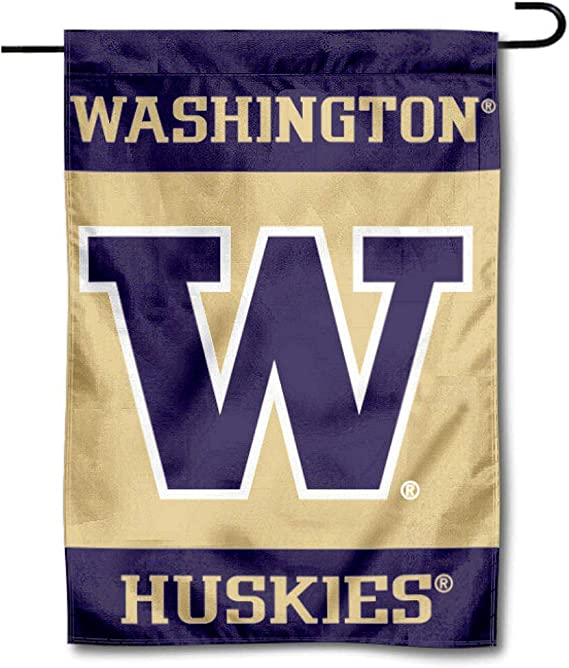 WASHINGTON HUSKIES FLAG new 3x5ft superior quality fade resist us seller