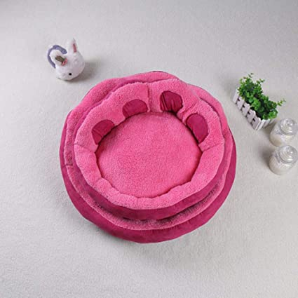 Vivian Inc Beds & Furniture - Products Pet Paw Shaped Small Medium Dog Bed Design Cute