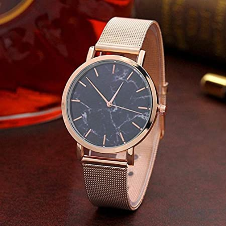 Amazon.com: Big Windoson Women Quartz Watches Ladies Watches Womens Relojes Stainless Steel Female Watches (Rose Gold): Electronics