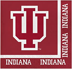 Indiana Hoosiers Lunch Napkins, 60 Count